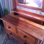 Dresser with wax finish