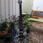 Refinished guitar